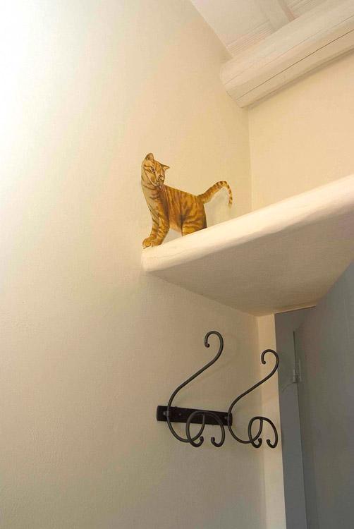 Gatto trompe l\'oeil
